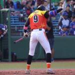 【女子野球】加藤選手のバッティング。下半身安定。