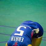 【女子バレー】PFU江畑・宇田 JT田中試合前の様子