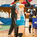 【女子バレー】水色のピッタリユニフォーム3