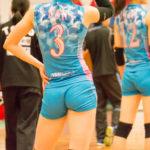 【女子バレー】水色のピッタリユニフォーム5